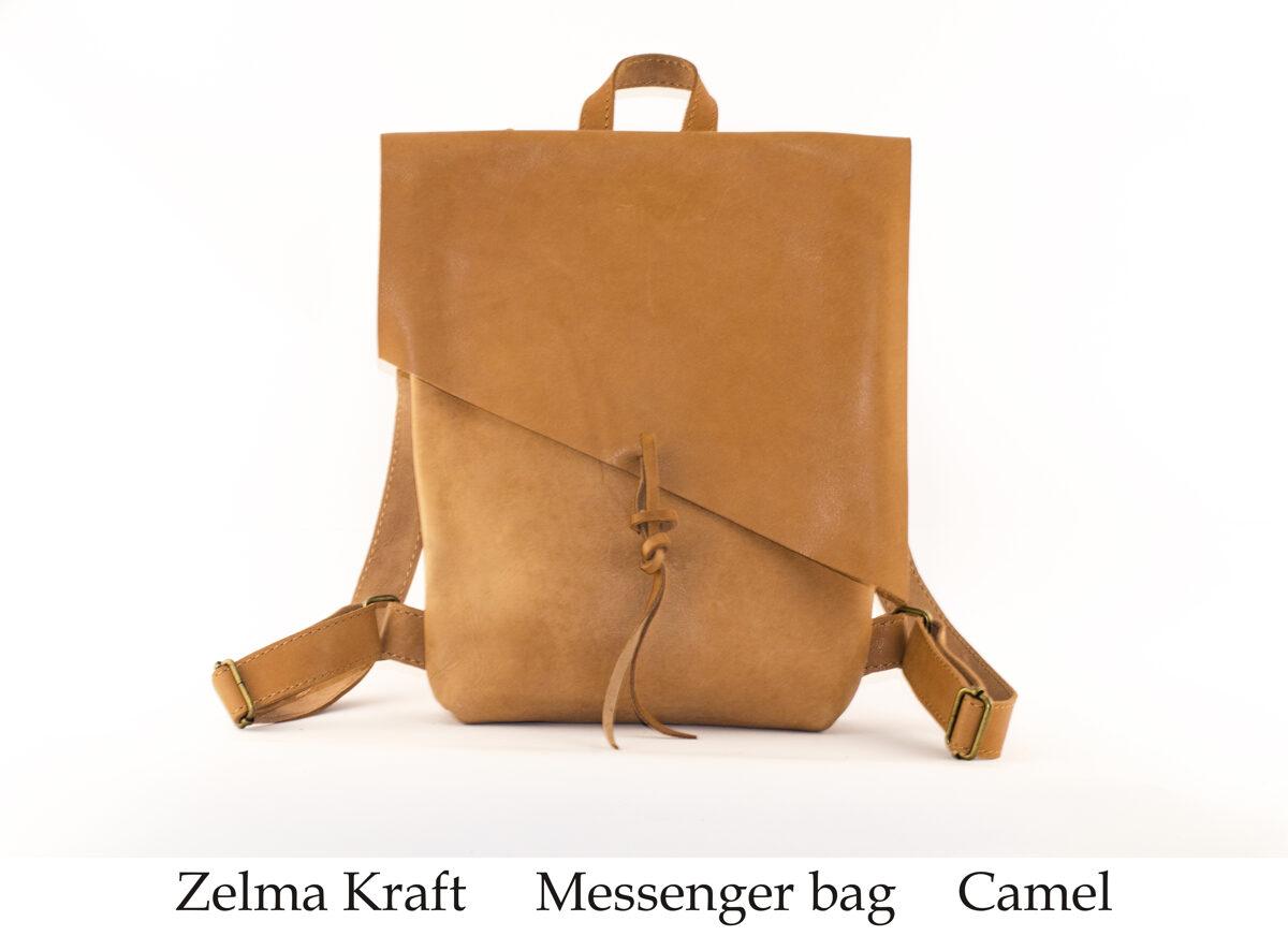 Messenger mugursoma Camel