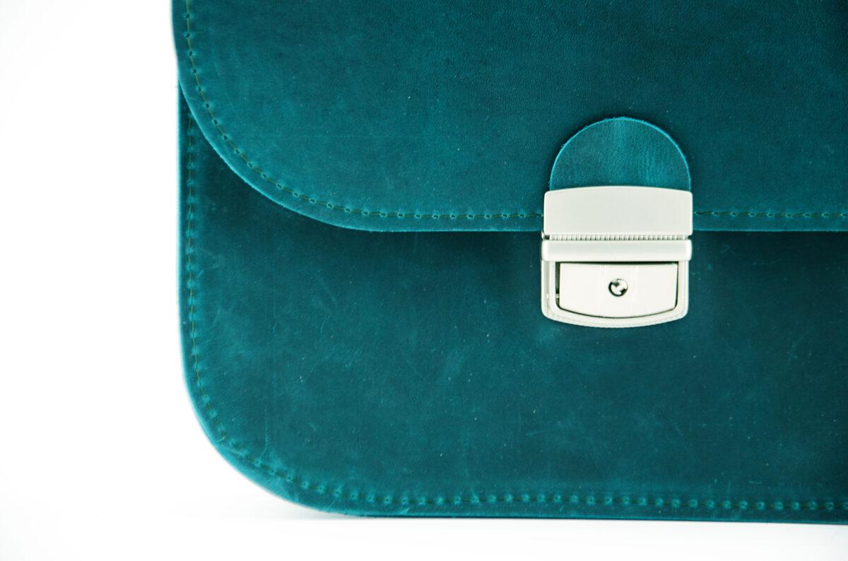 Saddle soma XL Zili-zaļa