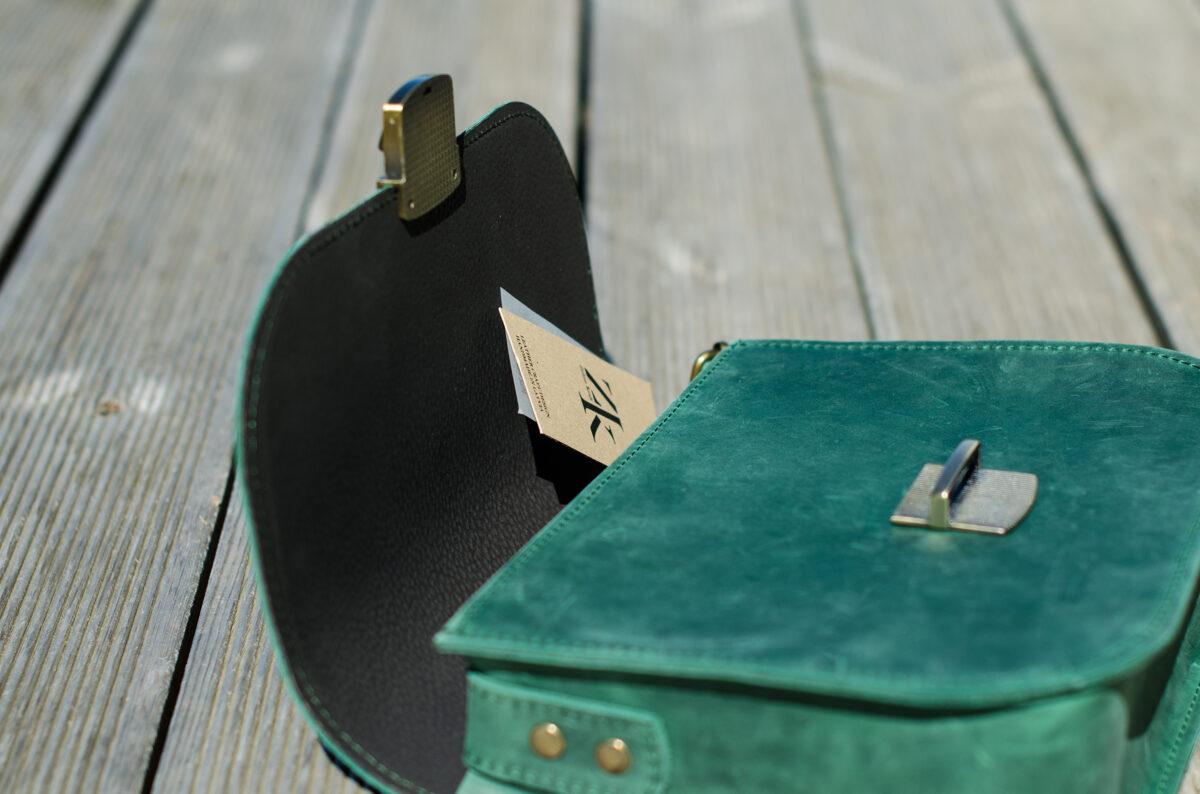Saddle soma XL Zaļa