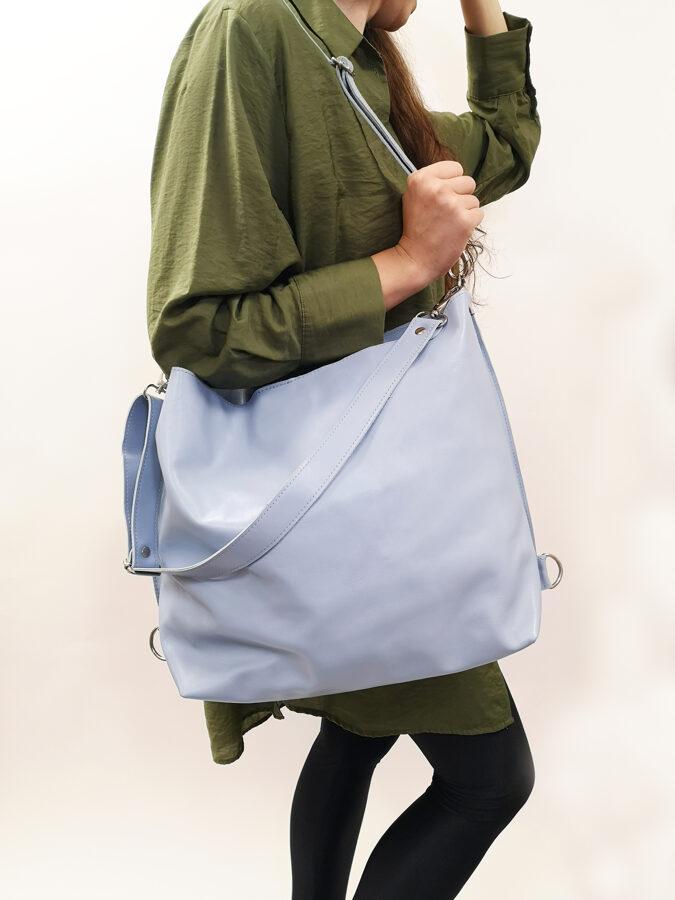 Colorful soma 3in1 L Gaiši zila
