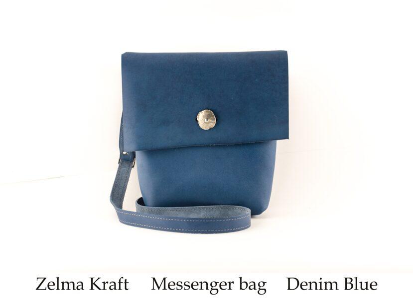 Messenger сумка M Denim Blue