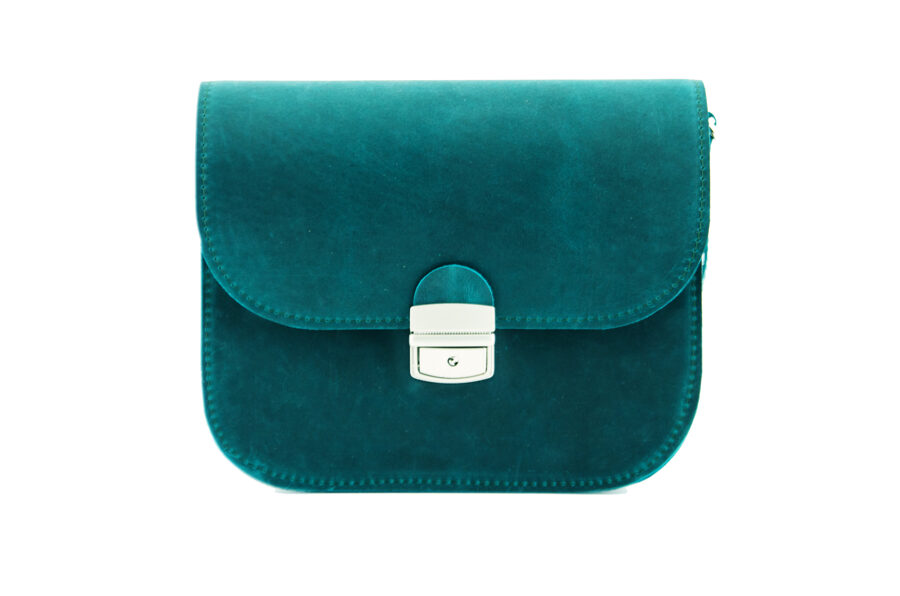 Saddle сумка L Сине-зелёная