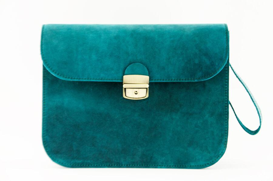 Saddle сумка XL Сине-зелёная
