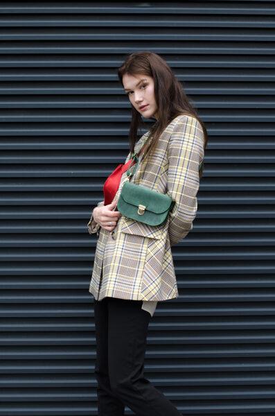 Saddle поясная сумка Зелёная