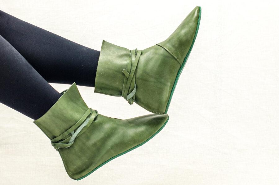 Сапоги Зелёные