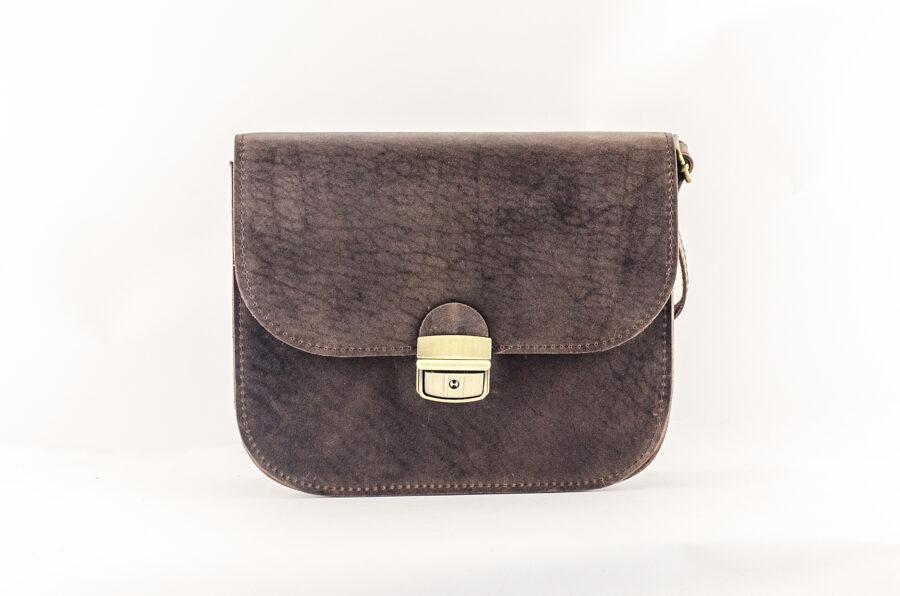 Saddle сумка L Тёмно-коричневая