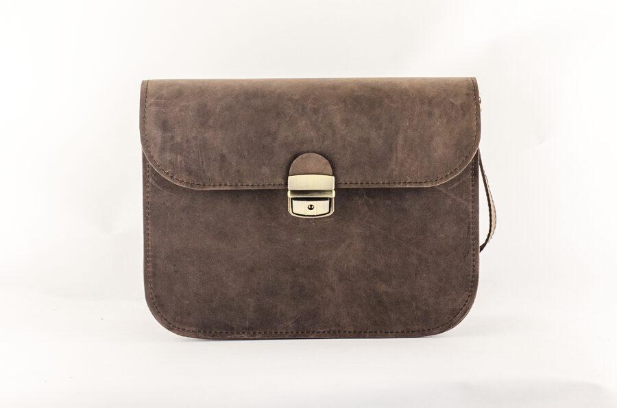 Saddle сумка XL Тёмно-коричневая