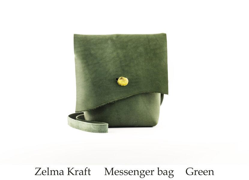Messenger сумка M Green