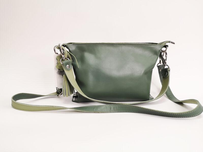 Colorful сумка через плечо S Оливково-зелёная