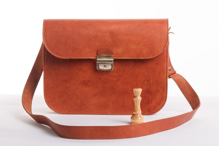 Saddle сумка XL Светло-коричневая